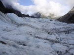 Up the glacier view